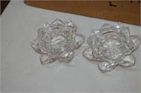 (24) Lotus Tea Light Holders