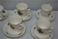 Group of Tea Cups & Saucers