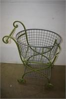 Metal Baby Carriage Storage Basket