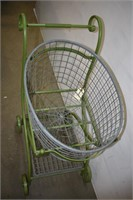 Metal Baby Carriage Storage Basket