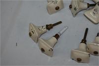 (24) Porcelain Knobs
