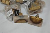 (12) Wood & Bone Knobs