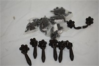 (6) Cast Handles & (6) Matching Knobs