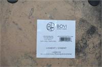 (2) Cement Beach Post Planters
