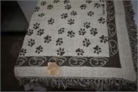 Grubby Paws Pet Blanket, Dish & Treat Jar