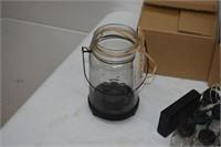 (2) Strings of (10) Jar Lights & T-Light Holders