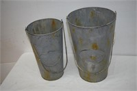 Hanging Canisters Size Lg & Medium