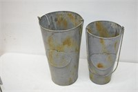 Hanging Canisters Size Medium & Small