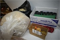 Group of Packaging & Wrapping Items
