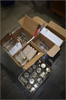 Large Group of Canning Jars