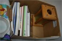 Pyrex, Tupperware, Cook Books, etc.