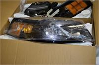 Set of Automotive Headlights