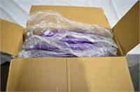 4pc. Purple Folding Chair Set