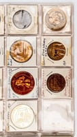 Coin Large Collection of Arizona Tokens 38 Pcs