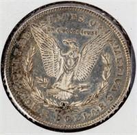 Coin 1878-S  Morgan Silver Dollar Brilliant Unc.