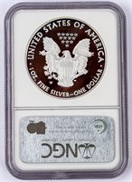 Coin 2008-W American Silver Eagle NGC PF69 UC