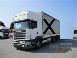 Scania R124l470  Uzywany