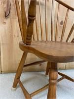 Antique Windsor Back Arm Chair