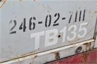 2007 TAKEUCHI TB135  MINI EXCAVATOR