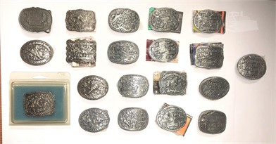 20 1983 Through 2002 Youth Hesston Belt Buckles Other Items
