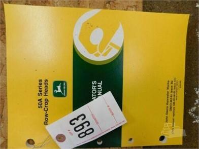John Deere 50a Series Row Crop Heads Operators Manual For