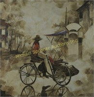LE DAC TRUNG - LEAF PAINTING ART