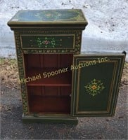 PAINTED COUNTRY STYLE WOOD CABINET