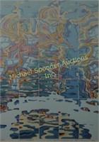 RISABURO KIMURA - LIMITED EDITION SILKSCREEN