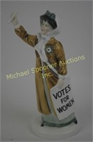 ROYAL DOULTON FIGURINE - VOTES FOR WOMAN HN2816