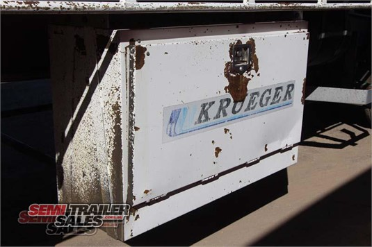 2004 Krueger Curtainsider Trailer Semi Trailer Sales - Trailers for Sale