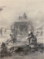 Ltd Edition Print In Support of Operation Athena