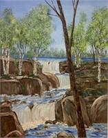 Nicole Mercier Oil On Canvas Painting