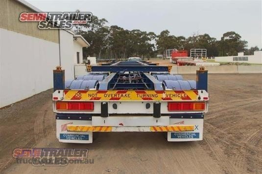 2002 Barker Skeletal Trailer - Truckworld.com.au - Trailers for Sale