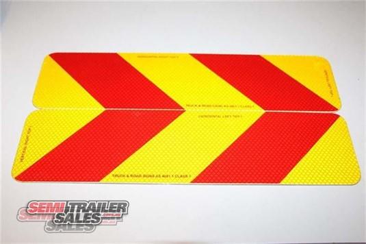 0 Semi Trailer Sales Rear Marker Signs Semi Trailer Sales - Parts & Accessories for Sale