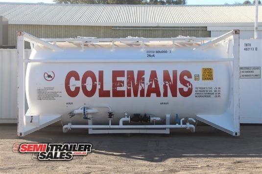 2008 Cimc Tanker Trailer Semi Trailer Sales - Trailers for Sale