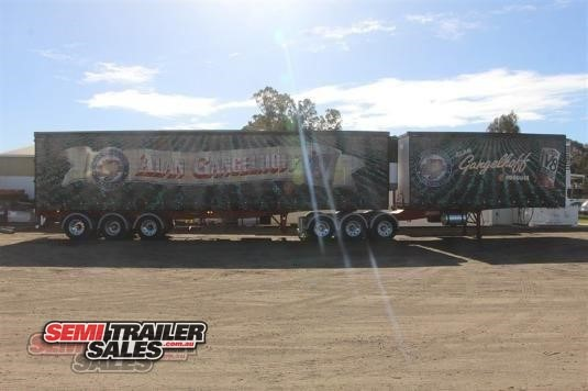 1999 Barker Refrigerated Curtainsider Trailer Semi Trailer Sales - Trailers for Sale