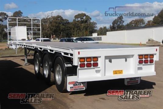 2003 Vawdrey Flat Top Trailer - Truckworld.com.au - Trailers for Sale