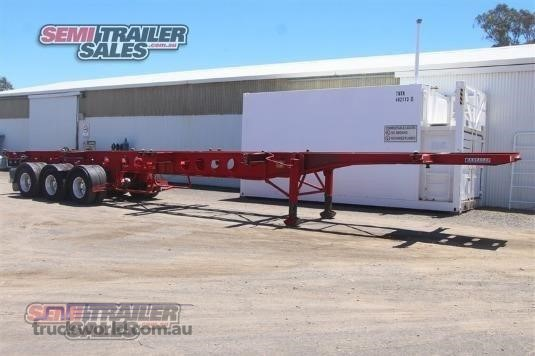 1999 Krueger Skeletal Trailer - Truckworld.com.au - Trailers for Sale