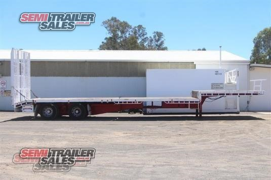 2002 Moore Dropdeck Trailer Semi Trailer Sales - Trailers for Sale