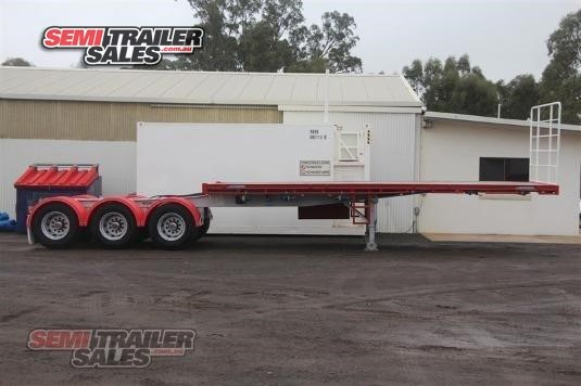 2018 Maxitrans Flat Top Trailer Semi Trailer Sales - Trailers for Sale