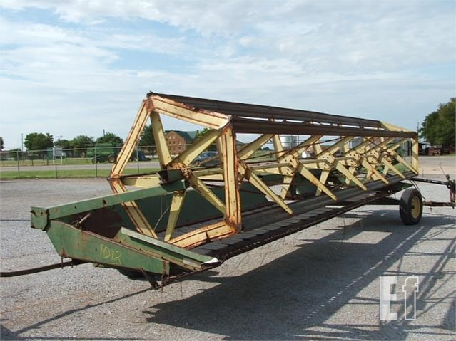 EquipmentFacts com | 25' JD DRAPER WINDROWER Online Auctions