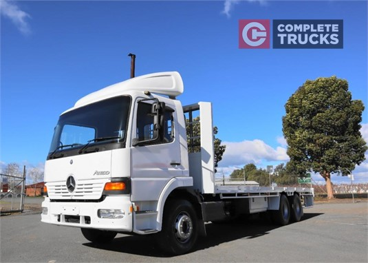 2005 Mercedes Benz Atego Complete Equipment Sales Pty Ltd - Trucks for Sale