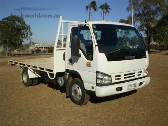 2007 Isuzu NPR 200 Black Truck Sales - Trucks for Sale