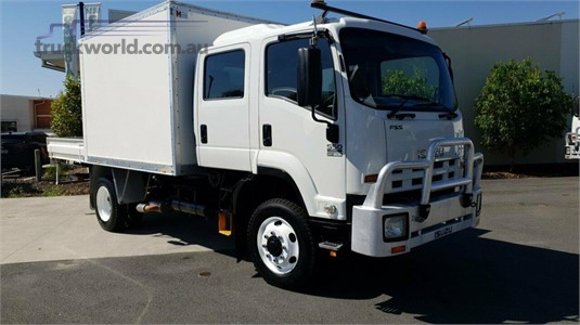 2011 Isuzu FSS 550 4x4 Trucks for Sale