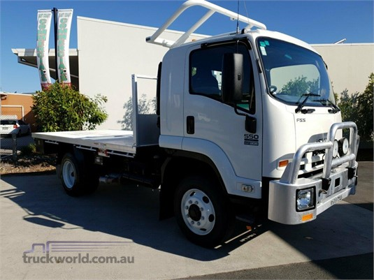2013 Isuzu FSS 550 4x4 Trucks for Sale