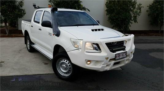 2014 Toyota Hilux Kun26r My14 Sr Double Cab - Truckworld.com.au - Light Commercial for Sale