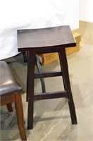 """Bench 40"""" long and Stool 26""""h"""
