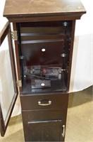 Small Bath Storage Cabinet