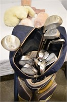 Golf Clubs and Bag - RH