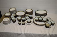 (2) Boxes of Denby Plates, Bowls, Mugs, Etc.